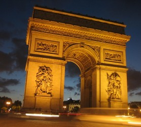 Paris Arc de Triomphe